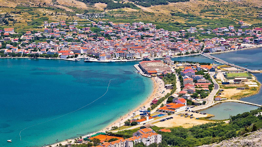 Pag Island town