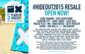 Hideout 2015 lineup
